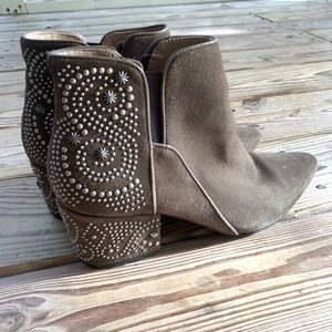 Belle by Sigerson Morrison Studded Ankle Boots